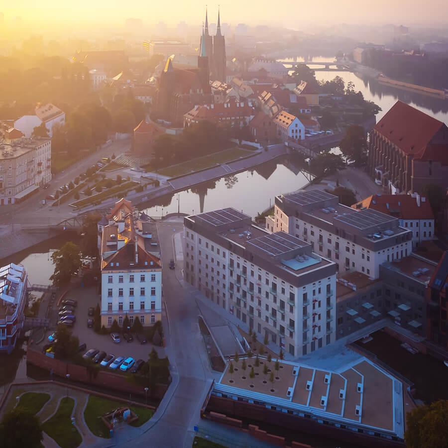 Lokalizacja w Centrum Wrocławia