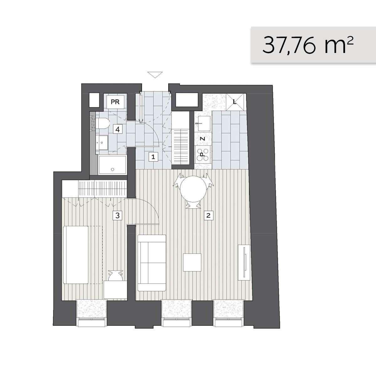 Mieszkanie 01.C.2
