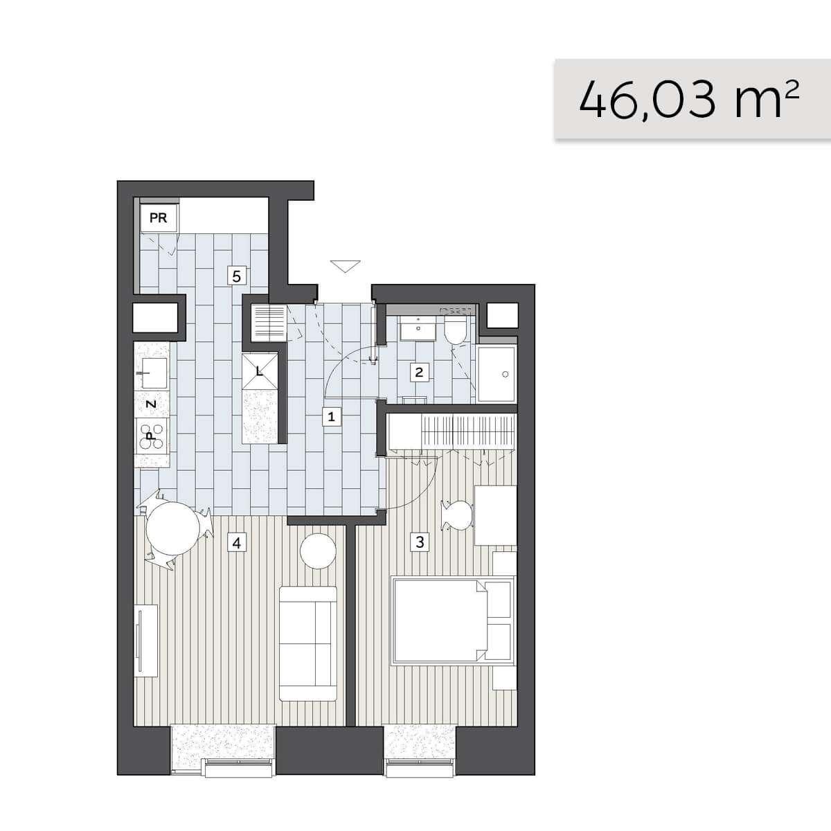 Mieszkanie 01.C.5