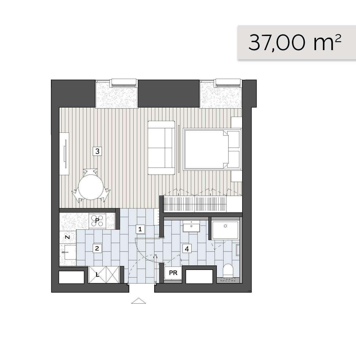 Mieszkanie 01.C.7