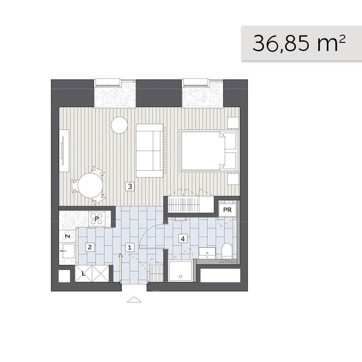 Mieszkanie 01.D.2