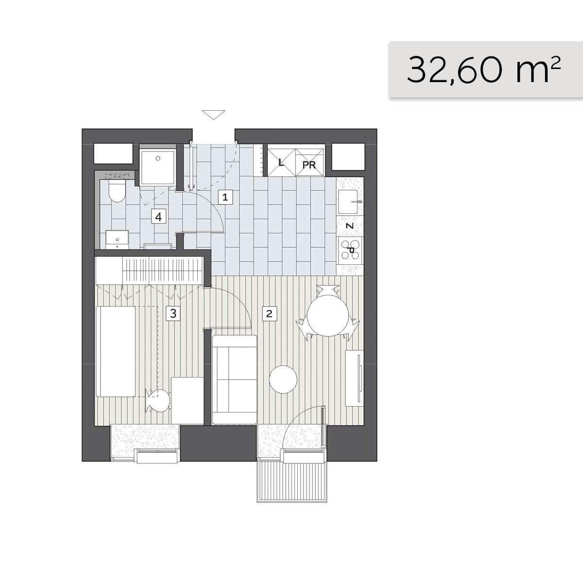 Mieszkanie 02.A.3