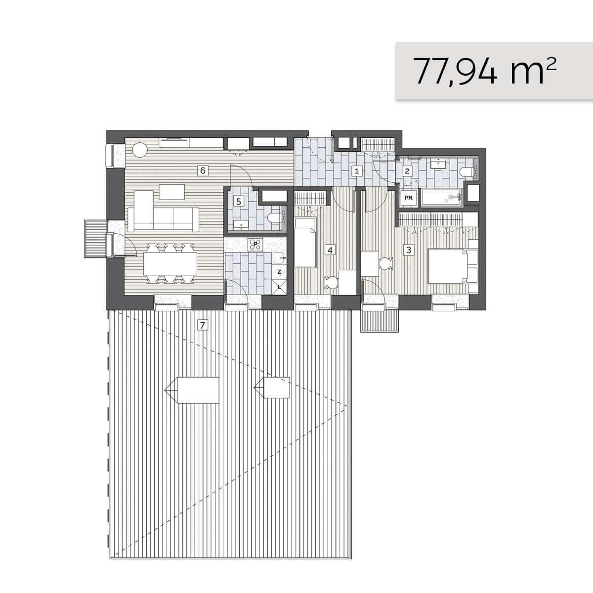 Mieszkanie 03.A.5