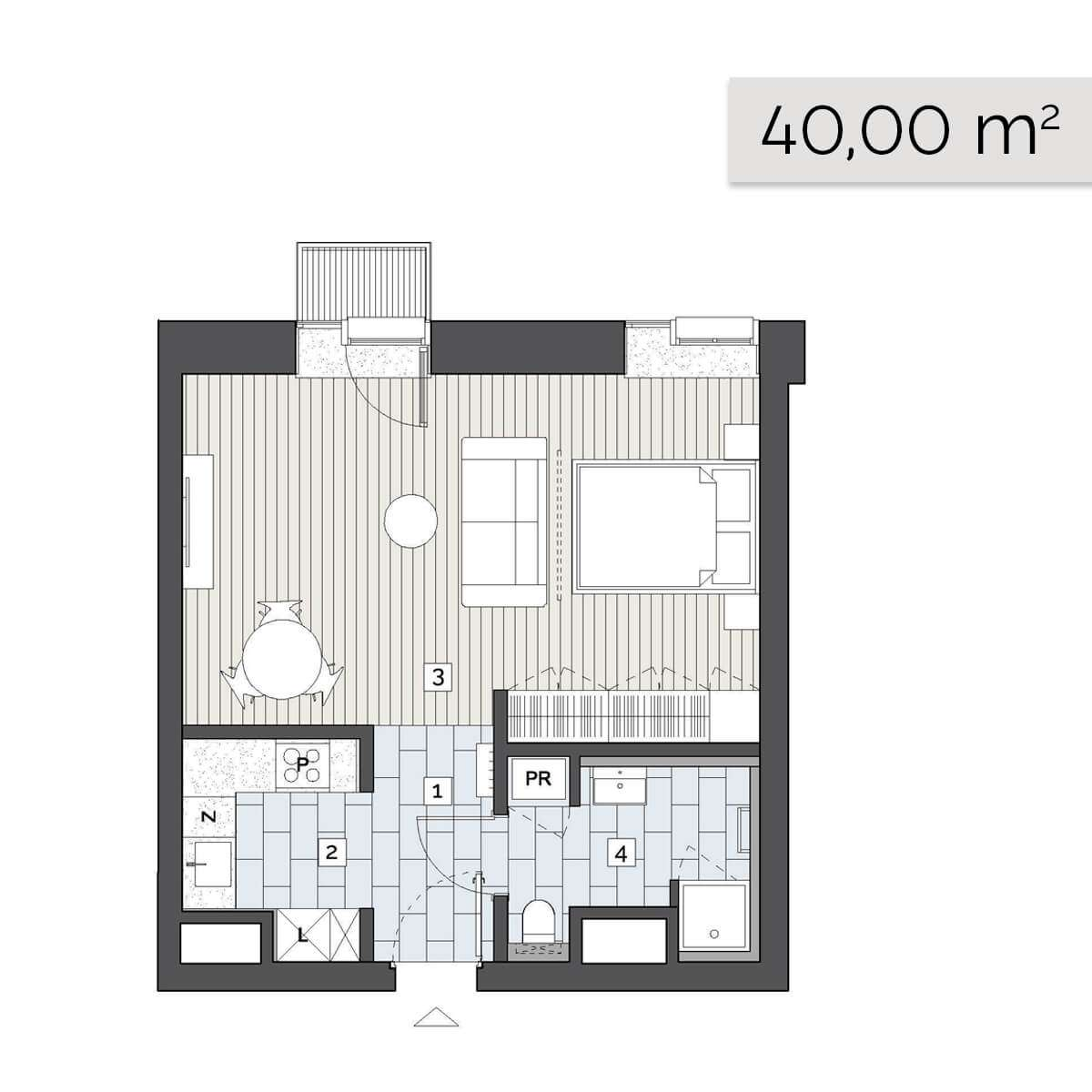 Mieszkanie 04.C.6