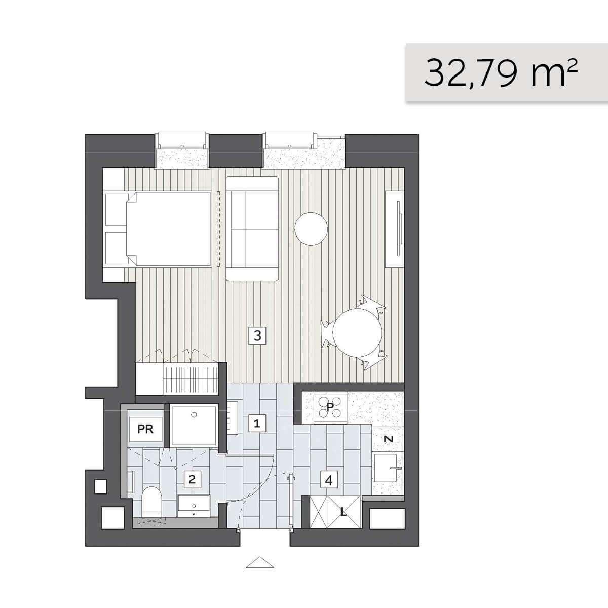 Mieszkanie 04.D.1