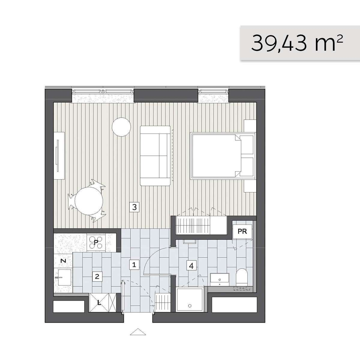 Mieszkanie 05.D.2